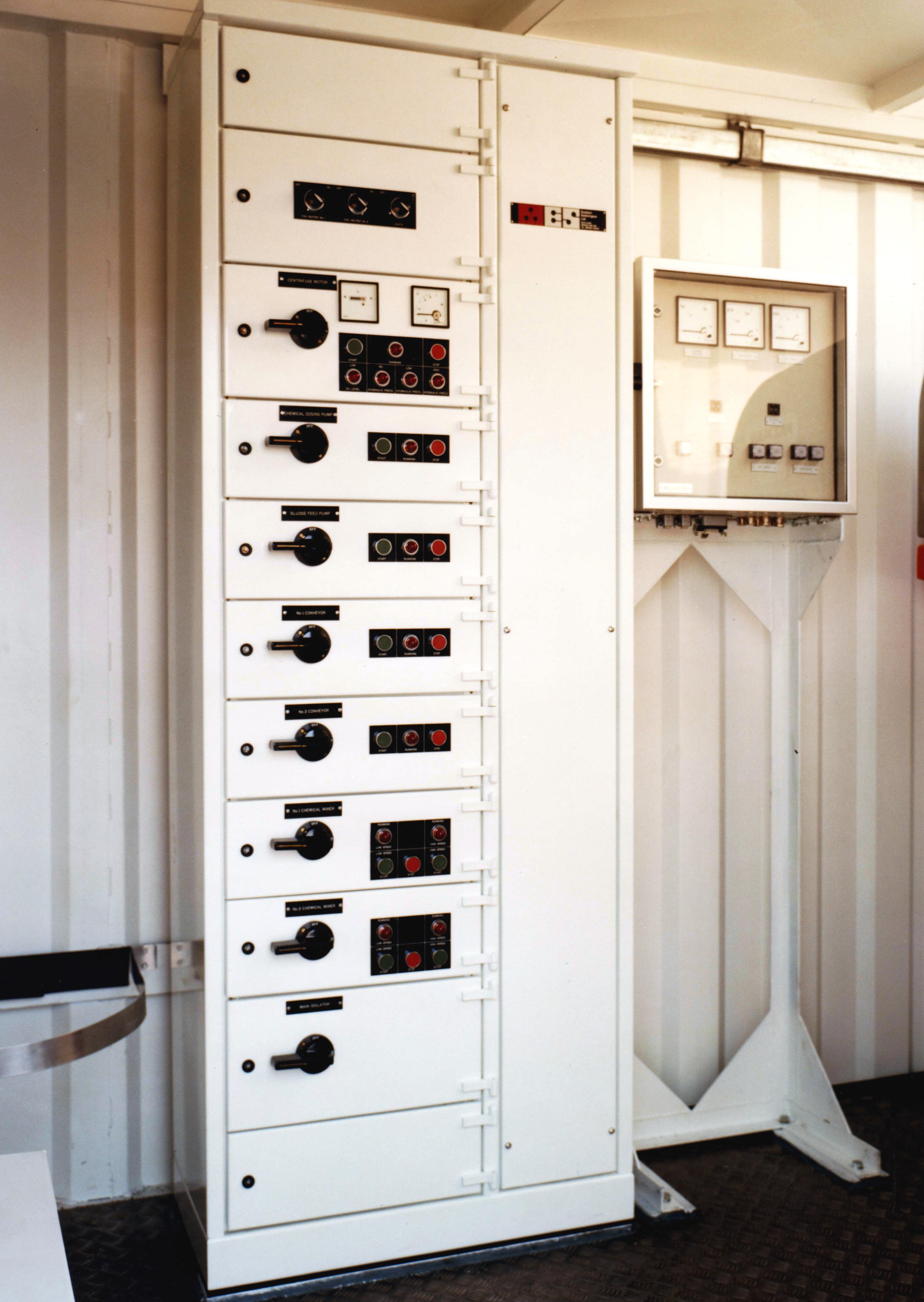 Switchboard S Motor Control Consoles Peto Services